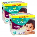 840 Couches Pampers Active Fit - Premium Protection taille 4