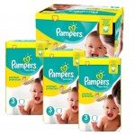 Mega Pack 300 couches Pampers New Baby Premium Protection