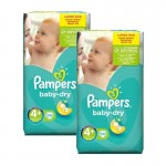 Giga Pack 112 couches Pampers Baby Dry