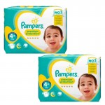 Maxi Pack 124 couches Pampers New Baby Premium Protection
