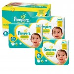 Maxi Giga Pack 248 couches Pampers New Baby Premium Protection