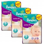 Maxi Mega Pack 282 couches Pampers Active Fit