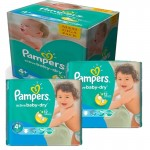 Giga Pack 280 Couches Pampers Active Baby Dry