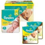 Giga Pack 192 couches Pampers New Baby Premium Protection