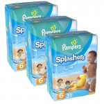 Giga pack 63 Couches de Bain Pampers Swimming Pants Splashers
