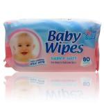 Pack 80 Lingettes Bébés 4my Baby peaux sensibles sur layota