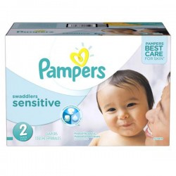 280 Couches Pampers Pampers New Baby Sensitive Taille 2 En Promotion
